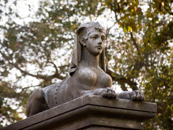 Mountain View Cemetery Sphynx