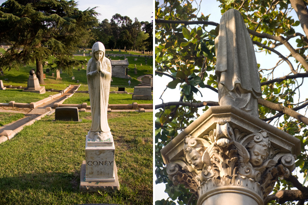 Mountain View Cemetery Statues