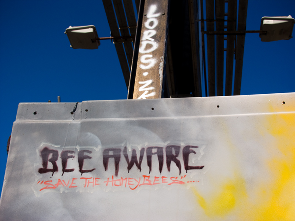 Bee Aware - Save the Honeybees Mural