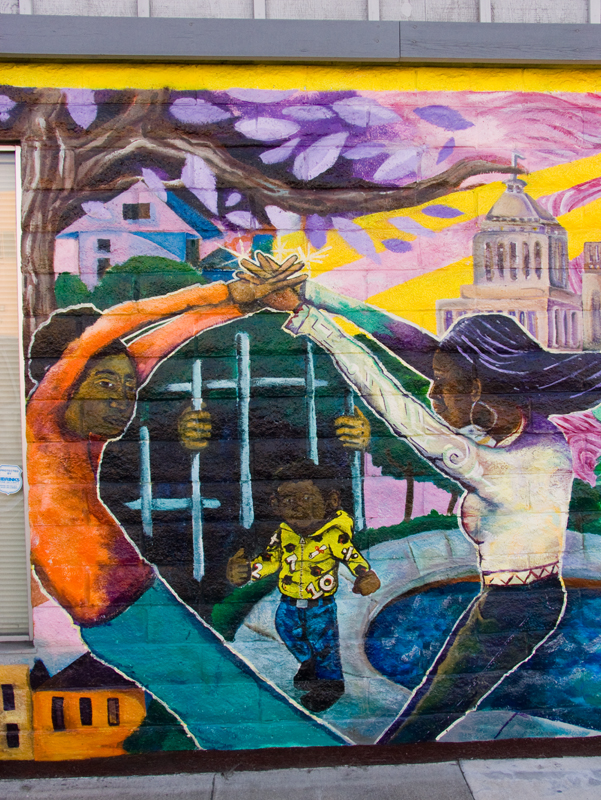 Ella Baker Center Mural