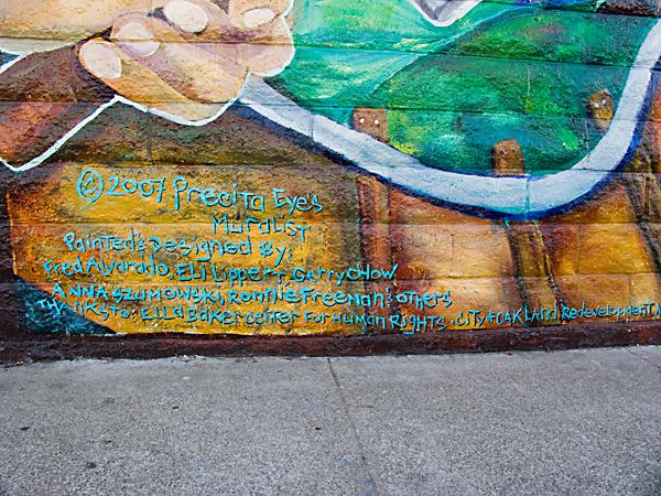 Ella Baker Center Mural Artists