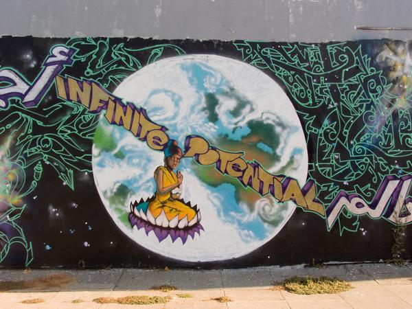 oakland mural, Infinite Possibility