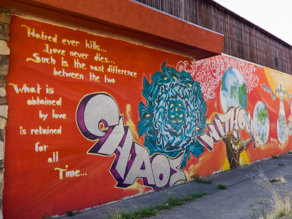 oakland mural, chaos without mural, mural on broadway