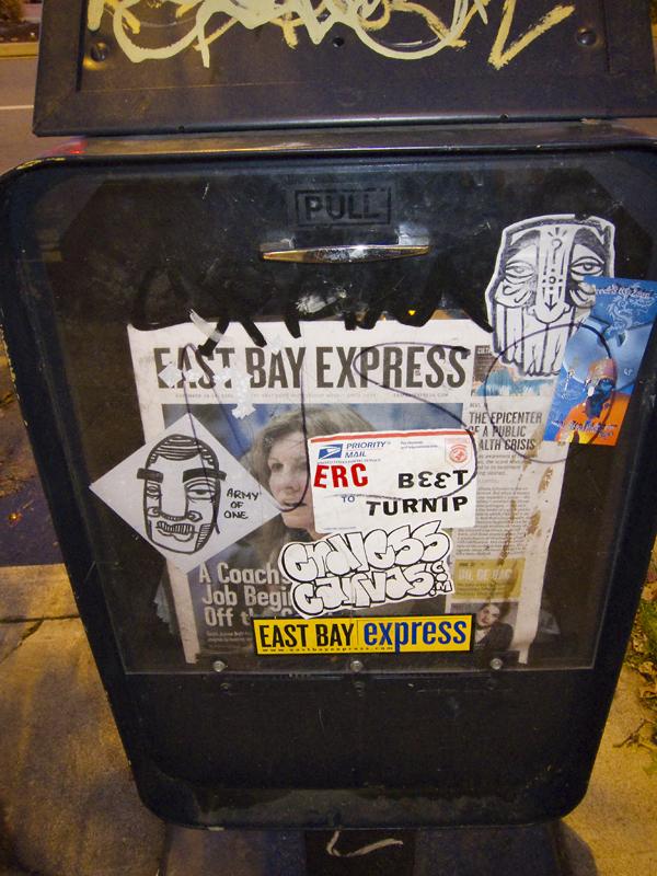 crude sticker art, stickers by crude, dead eyes stickers, dead eyes graffiti, graffit art oakland