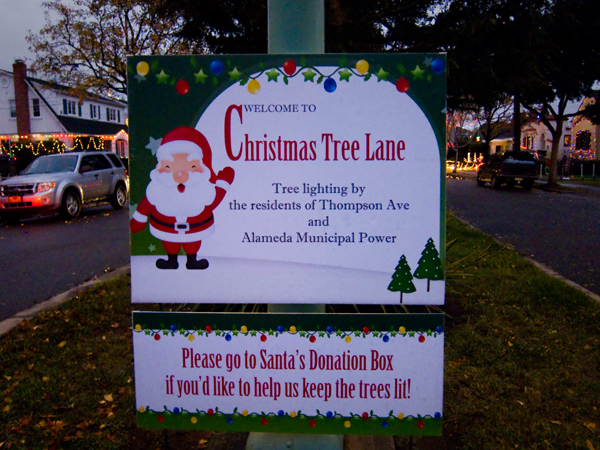 All ... - Christmas Tree Lane ~ Alameda Oaktown Art Oakland Art, Public