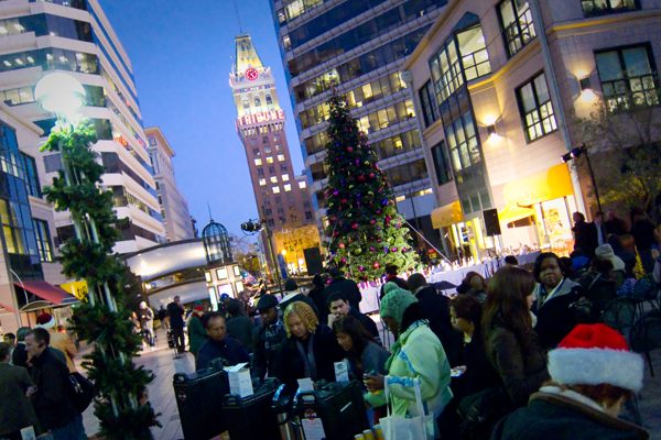 City Center Tree Lighting Ceremony
