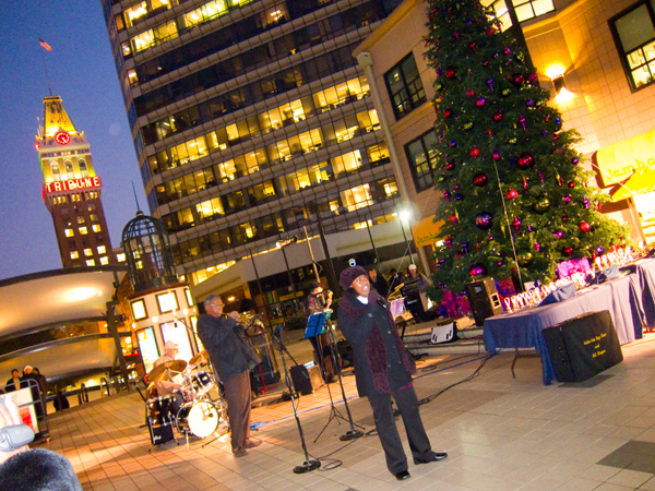 oakland jazz workshop, city center tree lighting