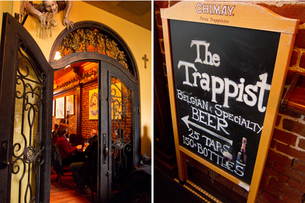 the trappist, belgian beer bar, downtown oakland specialty bar