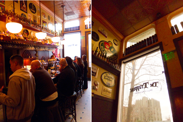 the trappist, belgian beer pub,