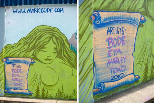 bode mural, west oakland mural, peralta street murals, oakland mural art