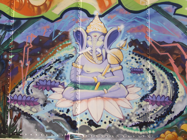oakland mural art, CRP mural on Mandela, CRP murals, Mandela Parkway murals