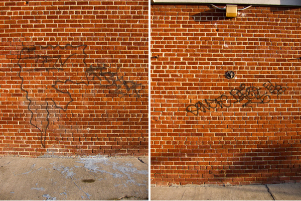 tags, tagging, spraypaint, lame graffiti