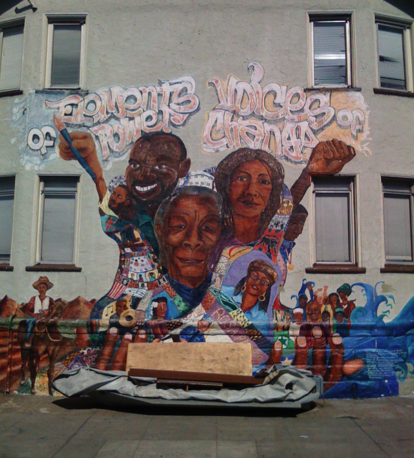 oakland mural, oakland mural art, ghosttown mural art
