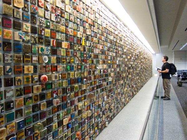 gateway, Ik-Joong kang, SFO airport art