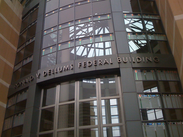 oakland city federal building, ron dellums