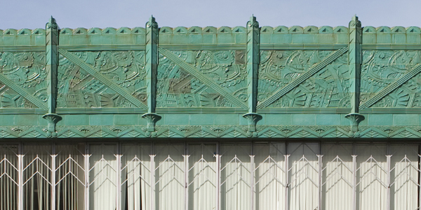 Mary Bowles Building, Oakland Art Deco Building, Blue-green Terracotta