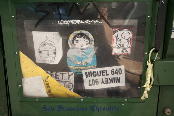 sticker art, oakland stickers, graffiti stickers