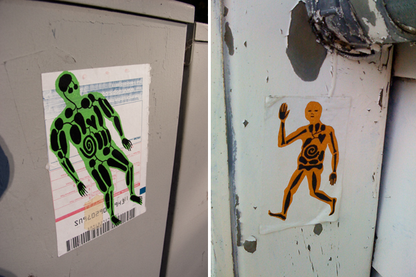 organ guy stickers, xray man stickers, x-ray man stickers