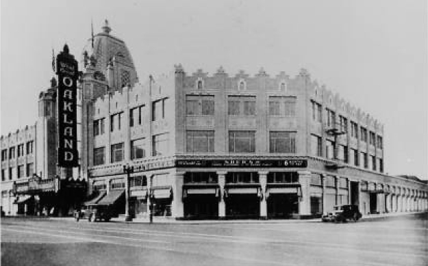 fox theater historical photo, fox theater circa 1928