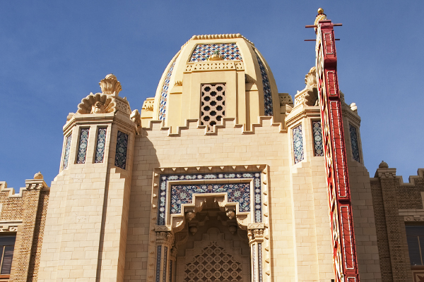 moorish architecture, fox theater oakland