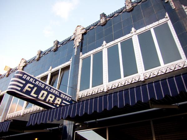 Oakland Floral Depot Building, flora restaurant oakland