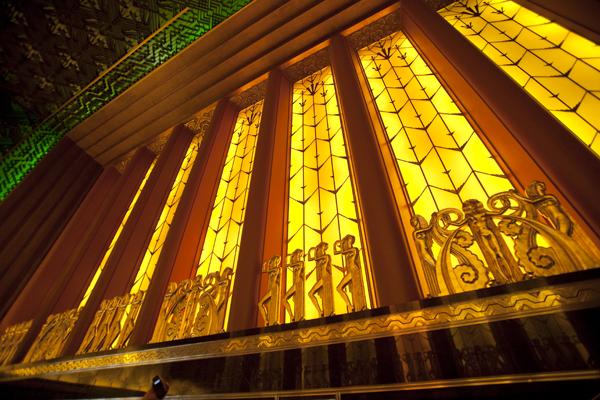 art deco sculpture, art deco lighting, egyptian princesses