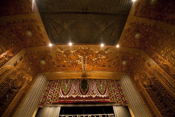 paramount theatre ceiling, paramount theatre oakland