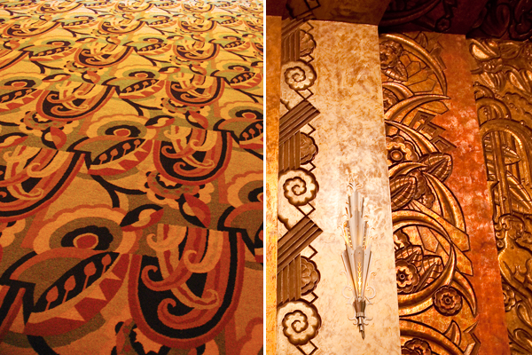 art deco motifs, art deco designs, paramount theatre oakland