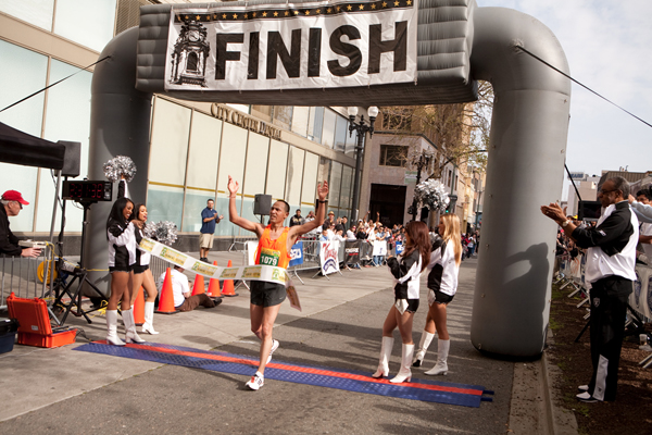 Oakland Marathon, Tony Torres, Winner of Marathon