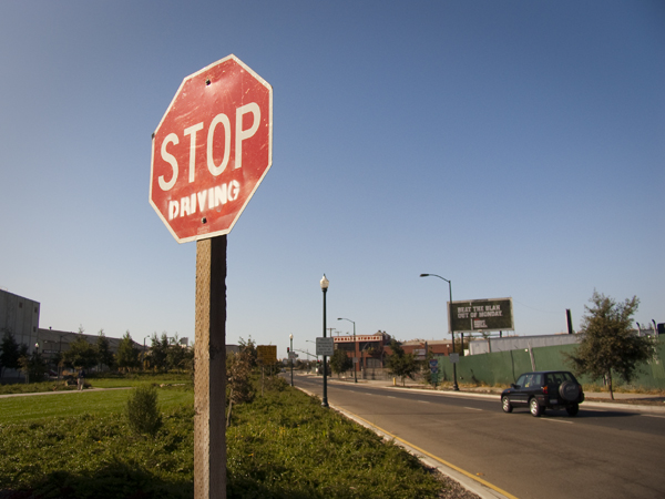 graffiti art, oakland graffiti, stencil art, spray paint stencil, stop sign graffiti