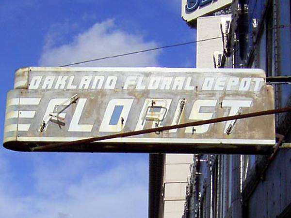 floral depot building, Oakland Floral Depot Building