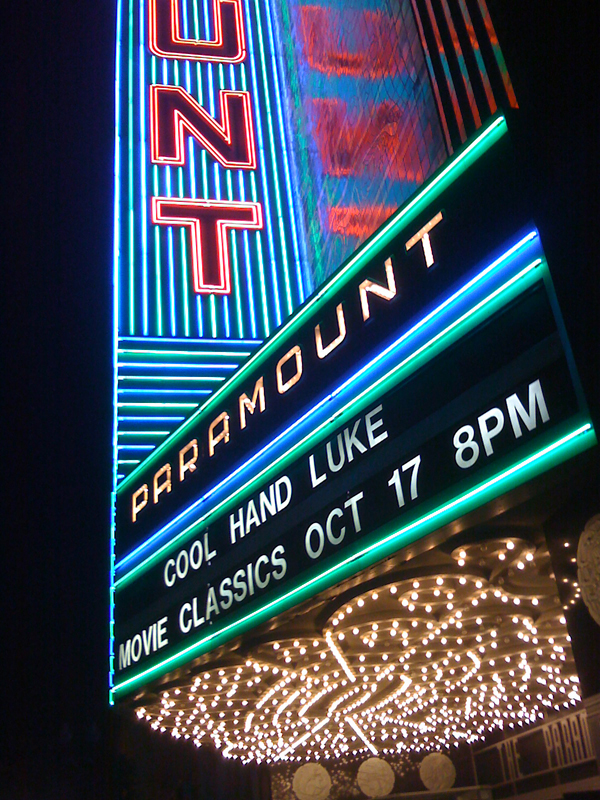 paramount theatre, paramount oakland, movie night at Paramount