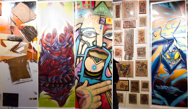 stand tall art show, old crow gallery oakland