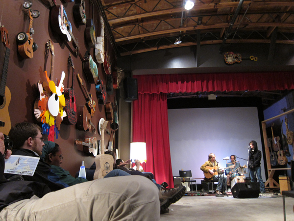 art murmur, studio quercus, the guitar show, joe rut, john shiurba, viola keeton