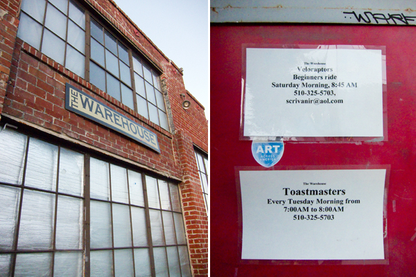 toastmasters, veloraptors, warehouse 416, the warehouse oakland, 26th street oakland