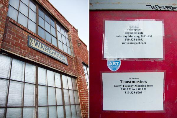 toastmasters, veloraptors, warehouse 416, the warehouse oakland, 26th street oakland