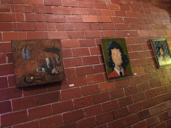 surrealist paintings, nome edonna, art murmur warehouse 416