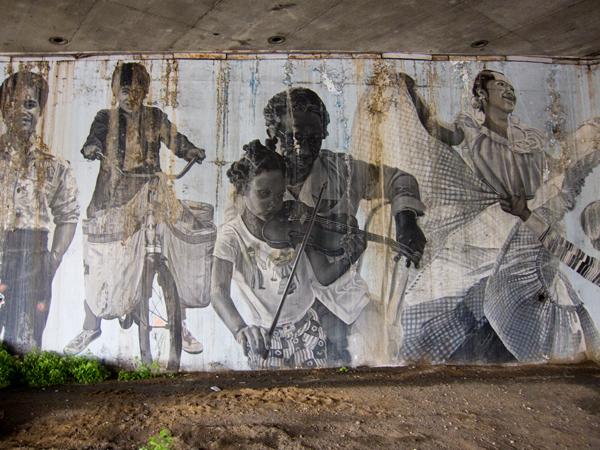 oakland residents mural art, oakland residents portraits san pablo