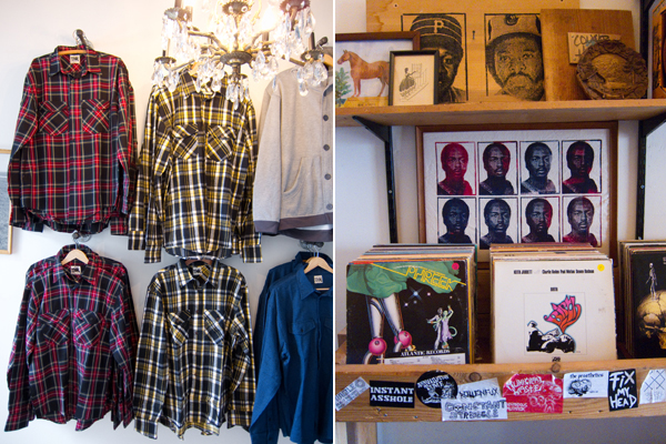 hipster clothing, plaid shirts, cougarhorse oakland