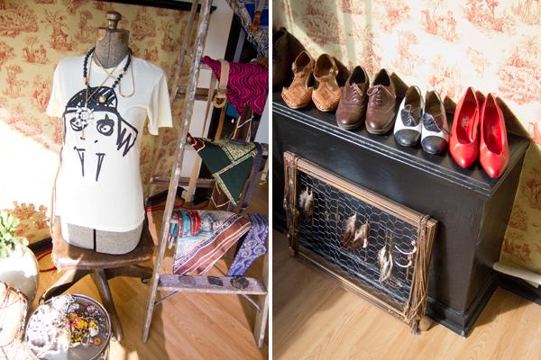vintage clothing oakland, custom T's oakland, cougarhorse oakland