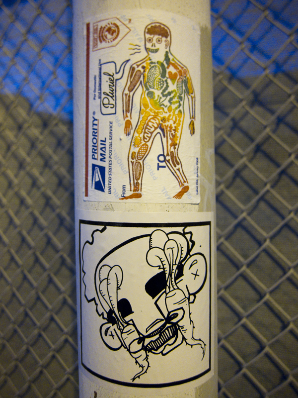 koleo sticker, dead eyes sticker, graffiti stickers, usps sticker