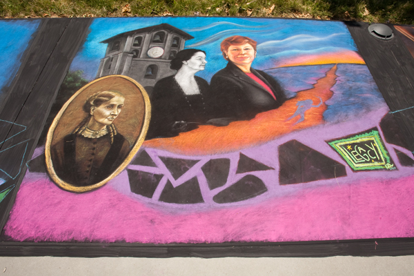 Susan Mills, Aurelia Henry Reinhardt, Janet L. Holmgren