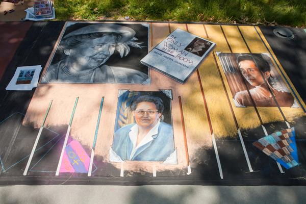 Eleanor Roosevelt, Beate Sirota Gordon, Thoraya Ahmed Obaid, Aung San Suu Kyi