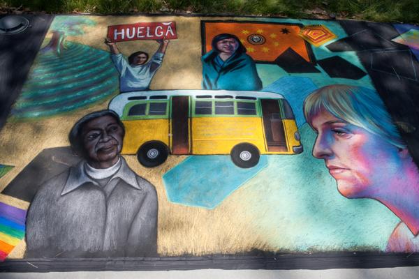 Ellen DeGeneres, Dolores Huerta, Wilma Mankiller, Rosa Parks