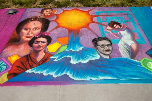 Trisha Brown, Pearl S. Buck, Frida Kahlo, Julia Morgan, Beverly Sills