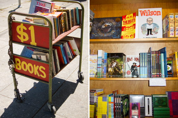 bargain books, local bookstores, oakland bookstores