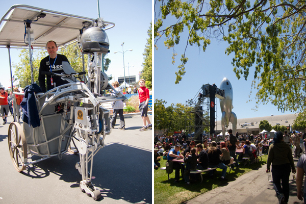 robot, maker faire
