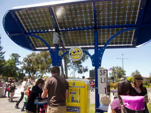 solar powered device station, solar station for recharge