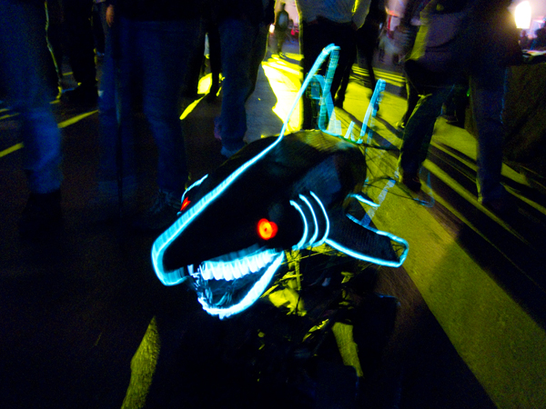 remote controlled shark
