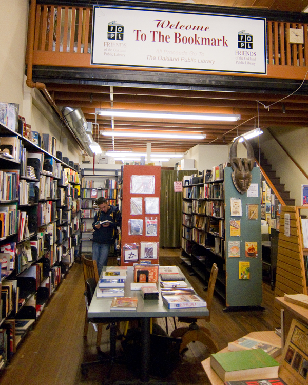 downtown oakland bookstore, independent oakland bookstore